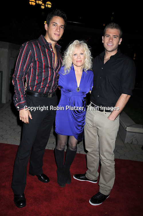Nicholas Rodriguez, Ilene Kristen and Scott Evans