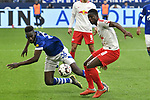 16.03.2019, VELTINS-Arena, Gelsenkirchen, GER, DFL, 1. BL, FC Schalke 04 vs RB Leipzig, DFL regulations prohibit any use of photographs as image sequences and/or quasi-video<br /> <br /> im Bild v. li. im Zweikampf Salif Sane (#26, FC Schalke 04) Amadou Haidara (#8, RB Leipzig) <br /> <br /> Foto © nph/Mauelshagen