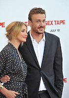 Cameron Diaz &amp; Jason Segel at the world premiere of their movie &quot;Sex Tape&quot; at the Regency Village Theatre, Westwood.<br /> July 10, 2014  Los Angeles, CA<br /> Picture: Paul Smith / Featureflash