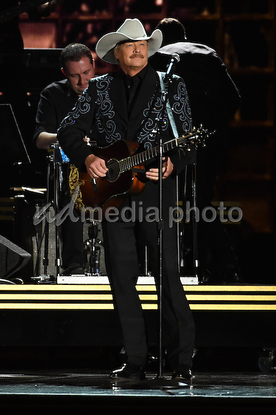 02 November 2016 - Nashville, Tennessee - Alan Jackson. 50th Annual CMA Awards. Then. Now. Forever Country. 2016 CMA Awards, Country Music's Biggest Night, held at Bridgestone Arena. Photo Credit: Laura Farr/AdMedia