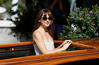 VENICE - September 1: Dakota Johnson on September 1, 2018 in Venice, Italy.(By Mark Cape/Insidefoto)
