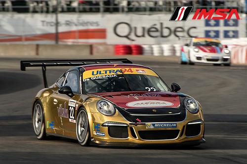 7-10 August, 2014, Trois-Rivieres, Quebec Canada<br /> 22, Carlos De Quesada, Platinum, M, 2014 Porsche<br /> &copy;2014, Scott R LePage <br /> LAT Photo USA