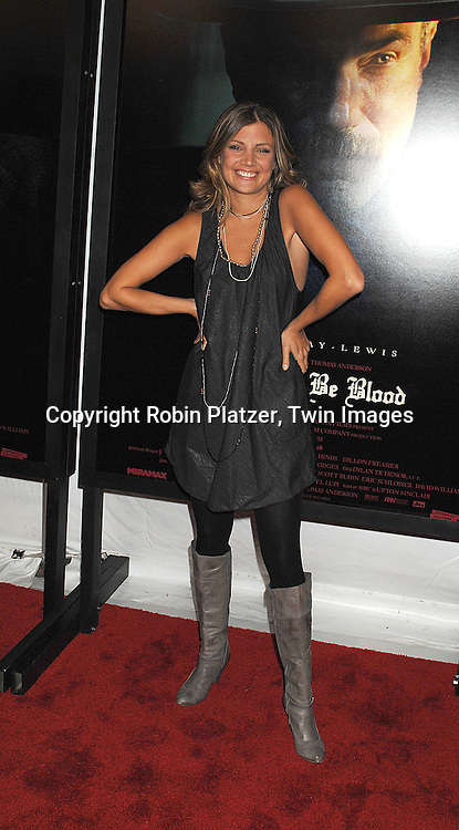 "Sabine Singh.arriving at the New York Premiere of ""There Will Be Blood"".on December 10, 2007 at The Ziegfeld Theatre in New York. Paul Thomas Anderson directed the movie which .stars Daniel Day-Lewis. .Robin Platzer, Twin Images"