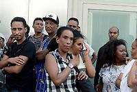 Roma, 19 Agosto 2017<br /> Piazza indipendenza<br /> Una donna sgomberata piange<br /> Polizia sgombera palazzo occupato da 4 anni da circa 500 rifugiati somali ed eritrei