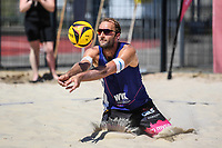 26th June 2020, Dusseldorf, Germany; The German Beach Volleyball League; Dirk Westphal