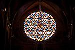 Main Rose Window, Cathedral, Palma, Mallorca - Majorca, Spain