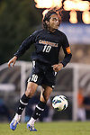 23 October 2012: Campbell's Mitchell Cardenas (MEX). The University of North Carolina Tar Heels Campbell University Fighting Camels at Fetzer Field in Chapel Hill, North Carolina in a 2012 NCAA Division I Men's Soccer game. UNC won the game 3-0.
