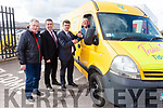 A new van has been donated by Randles Garage and SuperValu to Tralee Tidy Towns this week. Pictured were: Joe Moynihan (Tidy Tralee Together), Dave Randles (Randles Garage), Jim Garvey (SuperValu) and Sam Locke (Chair Tralee Tidy Towns).