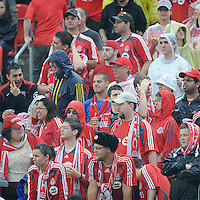 The Toronto FC fans show their support at  BMO Field on Saturday September 13, 2008. .The game ended in a 1-1 draw.
