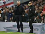 Tottenham's Head Coach Jose Mourinho reacts on the touchline during the Premier League match at the Tottenham Hotspur Stadium, London. Picture date: 30th November 2019. Picture credit should read: Paul Terry/Sportimage