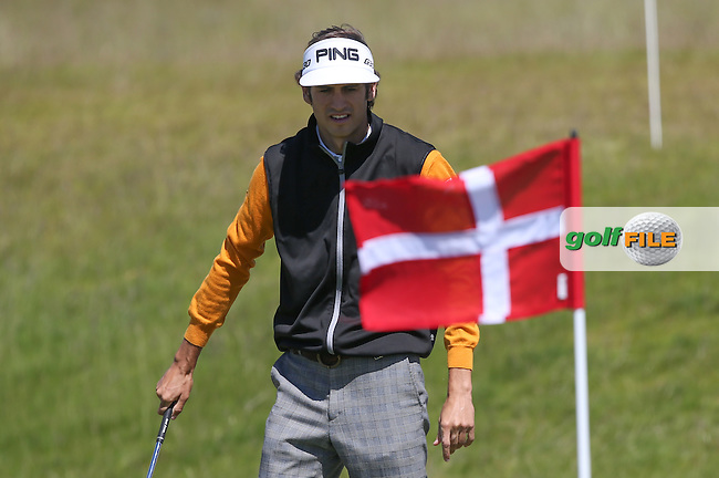 Pedro Oriol (ESP) had top of the leaderboard potential at one stage during Round Two of the 2015 Nordea Masters at the PGA Sweden National, Bara, Malmo, Sweden. 05/06/2015. Picture David Lloyd | www.golffile.ie