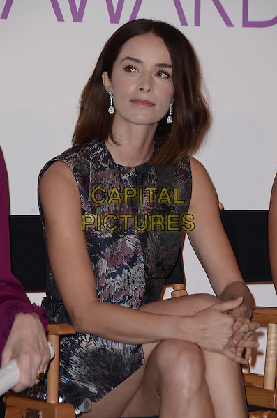 03 November - Beverly Hills, Ca - Abigail Spencer. People's Choice Awards 2016 Nomination Press Conference held at The Paley Center for Media. <br /> CAP/ADM/BT<br /> &copy;BT/ADM/Capital Pictures