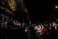 Concert of Duncandu with Mikel Erentxun at Los Fueros square of San Fermin at Pamplona. July 06,2016. (ALTERPHOTOS/Rodrigo Jimenez) /NortePhoto.com