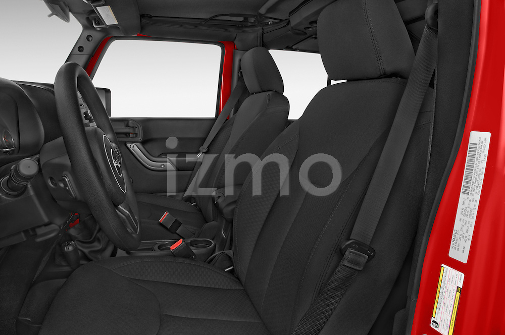 Front seat view of a 2015 JEEP Wrangler Unlimited Sport 5 Door Sport Utility Vehicle Front Seat car photos