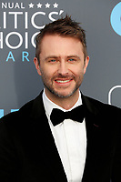 Chris Hardwick attends the 23rd Annual Critics' Choice Awards at Barker Hangar in Santa Monica, Los Angeles, USA, on 11 January 2018. Photo: Hubert Boesl - NO WIRE SERVICE - Photo: Hubert Boesl/dpa/dpa-mag /MediaPunch ***FOR USA ONLY***