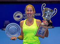 Rotterdam, Netherlands, December 17, 2017, Topsportcentrum, Ned. Loterij NK Tennis, Winner woman'sl  single final : Chayenne Ewijk (NED)  <br /> Photo: Tennisimages/Henk Koster