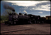 D&amp;RGW #488 K-36 in Chama.<br /> D&amp;RGW  Chama, NM
