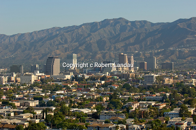 View of Glendale, CA