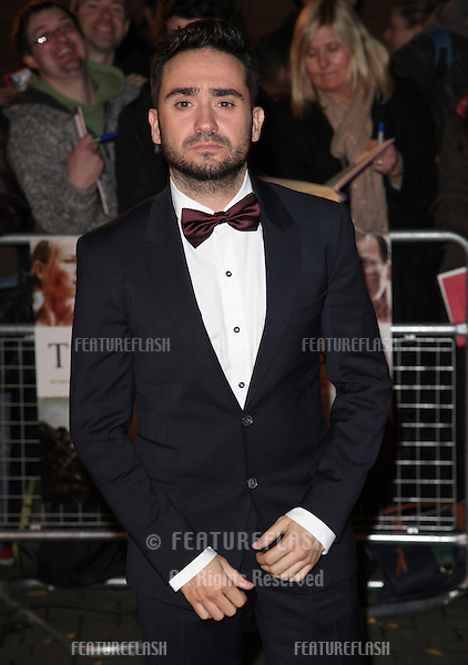 Juan Antonio Bayona arriving for the 'The Impossible' Premiere at the IMAX, Waterloo, London. 19/11/2012 Picture by: Alexandra Glen / Featureflash