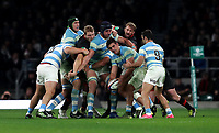 Argentina's Pablo Matera <br /> <br /> Photographer Rachel Holborn/CameraSport<br /> <br /> International Rugby Union Friendly - Old Mutual Wealth Series Autumn Internationals 2017 - England v Argentina - Saturday 11th November 2017 - Twickenham Stadium - London<br /> <br /> World Copyright &copy; 2017 CameraSport. All rights reserved. 43 Linden Ave. Countesthorpe. Leicester. England. LE8 5PG - Tel: +44 (0) 116 277 4147 - admin@camerasport.com - www.camerasport.com