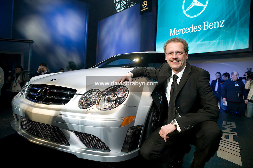 4 April 2007 - New York City, NY - Mercedes-AMG CEO Volker Mornhinweg presents the Mercedes-Benz CL65 AMG on day one of the press preview at the New York International Auto Show in New York City, USA, 4 April 2007.