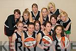 TOP TEAM:  The basketball team from Gael Cholasite Chiarrai who took part in the first ever Munster all-Irish Schools Sports Competitions in Tralee on Thursday last..Front L/r. Niamh Ni Mhatun (Castleisland), Avril Nic an tSitigh (Castleisland), Kirsty an Chnoic (Tralee)..Second row L/r. Aislinn Ni Cheallachain (Castleisland), Cait Ni Lionachain (Knocknagoshel), Suzanne Ni Charthaigh (Currow)..Back L/r. Orla Ni Dhreaighneain (Lixnaw), Emma Ni Bheaglaioch (Castleisland), Chloe Ni Mhurchu (Tralee), Cait Ni Speallain (Castlegregory), Avril Ni Fhathaigh (Tralee) and Alicia Ni Chonchuir (Tralee).   Copyright Kerry's Eye 2008