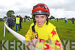 Dingle jockey Jack Kennedy who rode in the Castleisland Races on Sunday