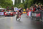Reto Hollenstein (SUI) Team Katusha Alpecin in action during Stage 1, a 14km individual time trial around Dusseldorf, of the 104th edition of the Tour de France 2017, Dusseldorf, Germany. 1st July 2017.<br /> Picture: Eoin Clarke | Cyclefile<br /> <br /> <br /> All photos usage must carry mandatory copyright credit (&copy; Cyclefile | Eoin Clarke)