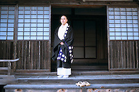 Shinto Priest, Kyosan, Japan.