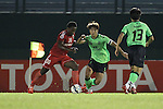 Binh Duong vs Jeonbuk Hyundai Motors during the 2015 AFC Champions League Group E match on April 08, 2015 at the Binh Duong Stadium in Thu Dau Mot City, Vietnam. Photo by Hoang Hung / World Sport Group