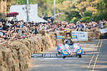 Team 有料創意  in action during the Red Bull Soapbox Race 2017 Taipei at Multipurpose Gymnasium National Taiwan Sport University on 01 October 2017, in Taipei, Taiwan. Photo by Victor Fraile / Power Sport Images