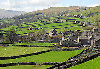 Gunnerside, North Yorkshire. View.