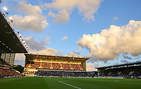 A general view of Turf Moor, home of Burnley<br /> <br /> Photographer Alex Dodd/CameraSport<br /> <br /> UEFA Europa League - Third Qualifying Round 2nd Leg - Burnley v Istanbul Basaksehir - Thursday 16th August 2018 - Turf Moor - Burnley<br />  <br /> World Copyright © 2018 CameraSport. All rights reserved. 43 Linden Ave. Countesthorpe. Leicester. England. LE8 5PG - Tel: +44 (0) 116 277 4147 - admin@camerasport.com - www.camerasport.com