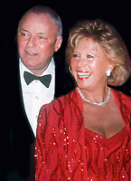 Frank Sinatra and Dinah Shore 1986<br /> Photo By Adam Scull/PHOTOlink.net