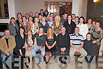 30TH: Val McSweeney, Barradubh (seated centre) celebrates her 30th birthday with her family and friends in the Killarney Oaks Hotel last Saturday night..