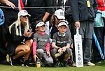 Lydia Ko fans. McKayson NZ Women's Golf Open, Round Two, Windross Farm Golf Course, Manukau, Auckland, New Zealand, Friday 29 September 2017.  Photo: Simon Watts/www.bwmedia.co.nz