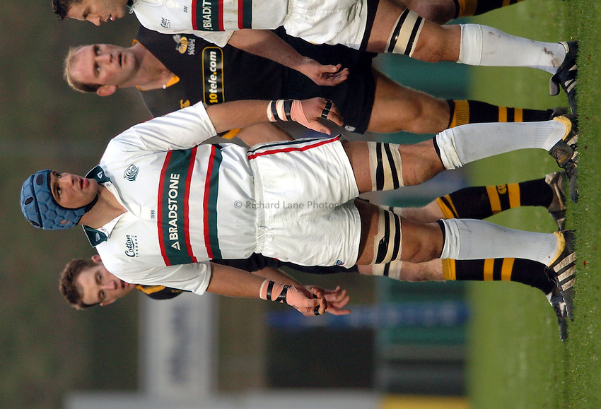 Photo. Henry Browne..London Wasps v Leicester Tigers. Zurich Premiership. 21/11/2004..Martin Johnson...