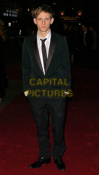 "JAMIE BELL.""King Kong"" UK film premiere at Leicester Square, London, UK..December 8th, 2005.Ref: CAN.full length black suit hands in pockets.www.capitalpictures.com.sales@capitalpictures.com.©Capital Pictures"