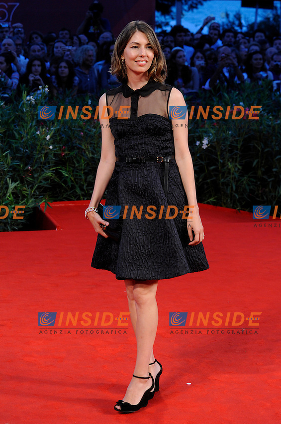 """- """"67 Mostra Internazionale D'Arte Cinematografica"""". Friday, 2010 September 03, Venice ITALY..- In The Picture: The film director Sofia Coppola on the red carpet for the premiere of the film """"SOMEWHERE""""...Photo STEFANO MICOZZI / Insidefoto"""