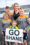 Sean Fitzgerald, Sean O'Connor, Caragh, Estelle and James Fitzgerald, Lispole, cheering on Shane Finn, at O'Shea's, Blennerville, Tralee on Friday last.