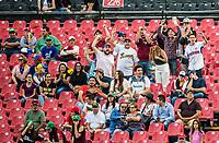 Aficionados al beisbol. <br /> .<br /> Partido de beisbol de la Serie del Caribe con el encuentro entre Caribes de Anzo&aacute;tegui de Venezuela  contra los Criollos de Caguas de Puerto Rico en estadio Panamericano en Guadalajara, M&eacute;xico,  s&aacute;bado 5 feb 2018. <br /> (Foto: Luis Gutierrez)<br /> <br /> Baseball game of the Caribbean Series with the match between Caribes de Anzo&aacute;tegui of Venezuela against the Criollos de Caguas of Puerto Rico, at the Pan American Stadium in Guadalajara, Mexico, Saturday, February 5, 2018.<br /> (Photo: Luis Gutierrez)