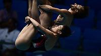 Elena Bertocchi, Maicol Verzotto ITA Italy <br /> Gwangju South Korea 20/07/2019<br /> Mixed 3m Synchro Springboard Final <br /> 18th FINA World Aquatics Championships<br /> Nambu University Aquatics Center  <br /> Photo © Andrea Staccioli / Deepbluemedia / Insidefoto