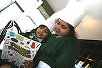 Geyaamalika and Rohini at the Launch of The Fatima Girls NS Cookery Book in the Eastern Seaboard Restaurant. ...Photo NEWSFILE/Jenny Matthews.(Photo credit should read Jenny Matthews/NEWSFILE)....This Picture has been sent you under the condtions enclosed by:.Newsfile Ltd..The Studio,.Millmount Abbey,.Drogheda,.Co Meath..Ireland..Tel: +353(0)41-9871240.Fax: +353(0)41-9871260.GSM: +353(0)86-2500958.email: pictures@newsfile.ie.www.newsfile.ie.FTP: 193.120.102.198.