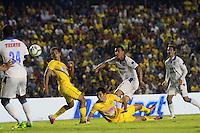 Encuentro de futbol entre los equipos Querétaro y Amércia correspondiente a la fecha 17 del Futbol mexicano, jugado hoy viernes 1 de Noviembre del 2013, en el Estadio Corregidora de Querétaro.