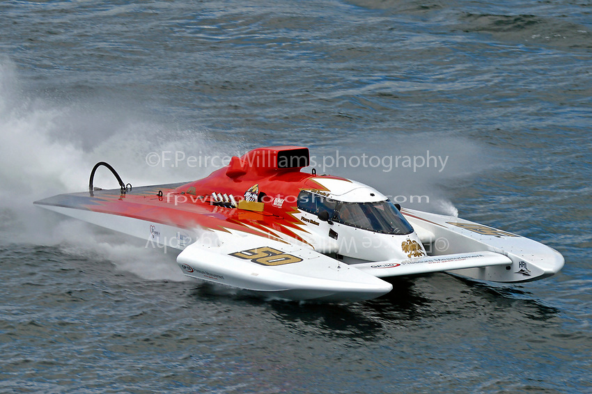 "Ken Brodie II, Pierre Maheu, GP-50 ""Intensity""  (Grand Prix Hydroplane(s)"