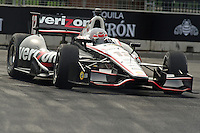 Baltimore -September 2: Will Power (12) leads the warmup session during the  Baltimore Grand Prix at the Baltimore Temporary Street Course on September 2, 2012 in Baltimore, Maryland (Ryan Lasek/Eclipse Sportswire)