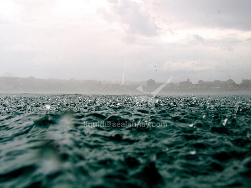 Water surface taken under different weather.