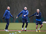 American tourists Kenny Miller, Kris Boyd and Stevie Smith