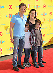 Steven Weber and family at The 14th Anniversary of P.S. ARTS - Express Yourself 2010 held at Barker Hangar in Santa Monica, California on November 07,2010                                                                   Copyright 2010  DVS / Hollywood Press Agency