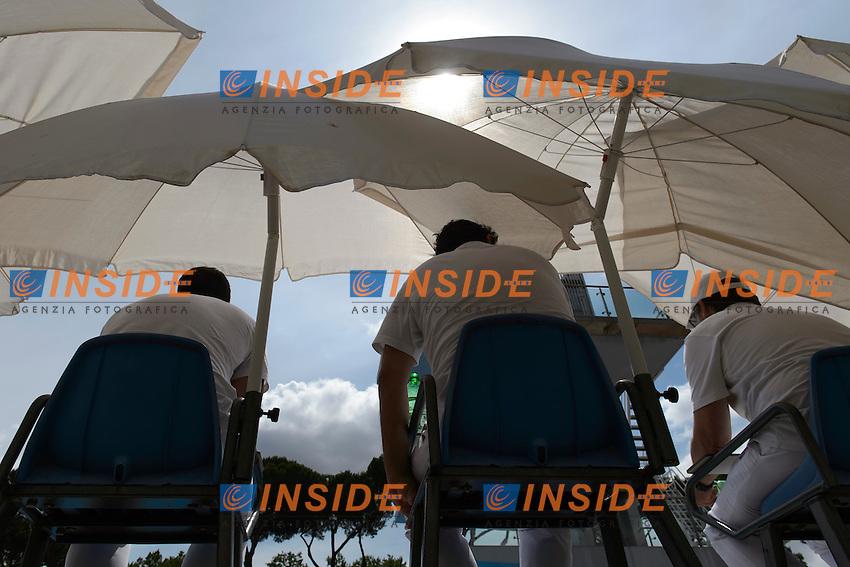 Giudici Judges <br /> Roma 20-06-2016 Stadio del Nuoto Foro Italico Tuffi Campionati Italiani <br /> Foto Andrea Staccioli Insidefoto